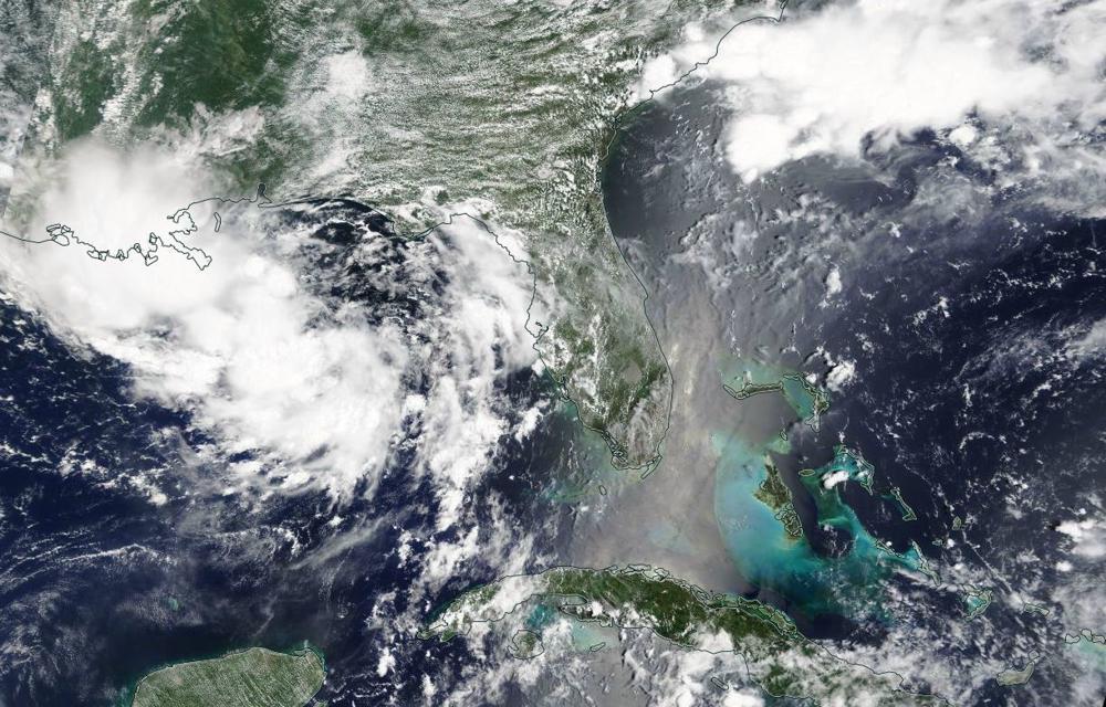 Satellietbeelden van 10 juli 2019