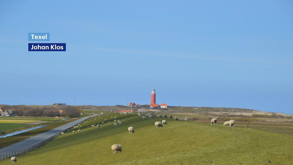 Texel is de komende dagen één van de zonnigste plekken van Nederland.