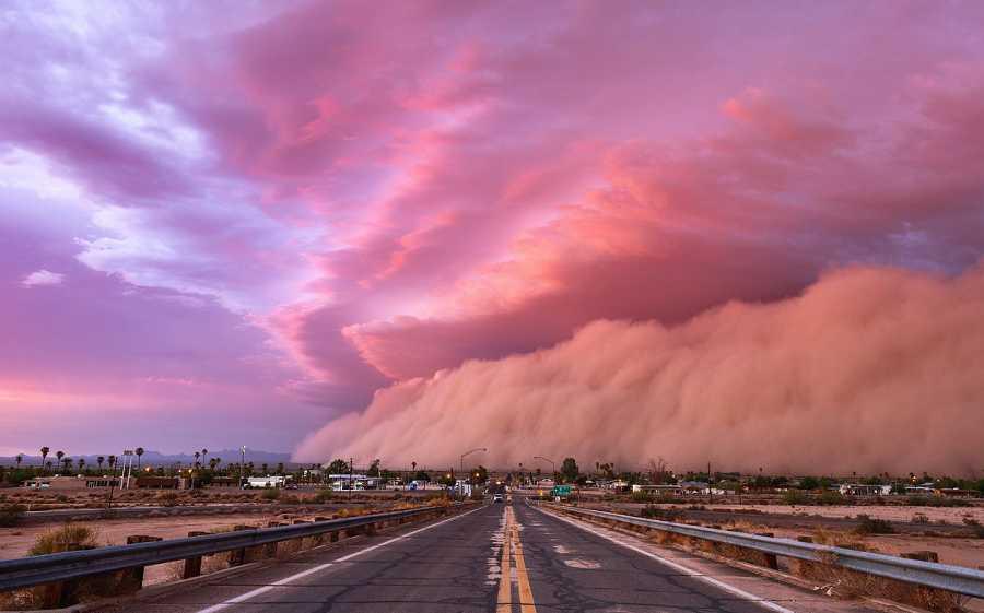 Haboob over Arizona